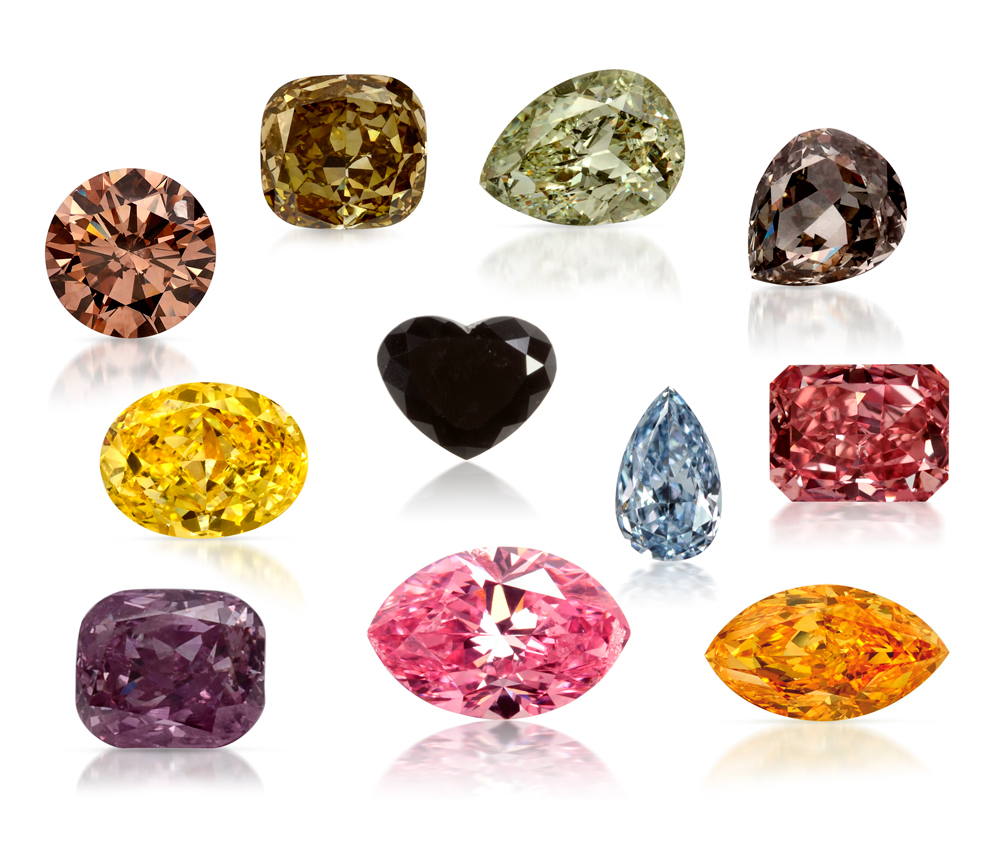 image group diamond gems different color di